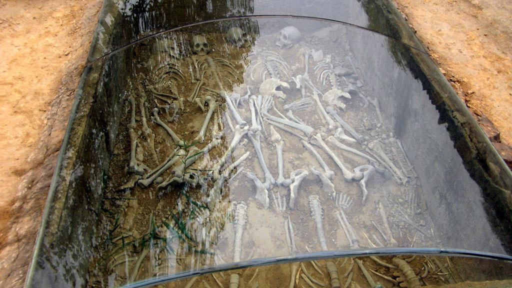 Массовое захоронение ритуальных жертв в Иньсюй. Фото: Wai Lit / Flickr.com
